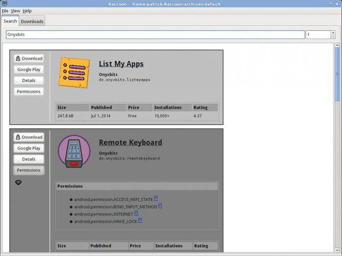 Загрузка файлов apk