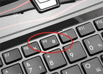 Кнопки на ноутбуке