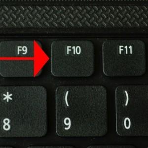 F10 на ноутбуке