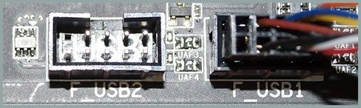 Разъемы USB