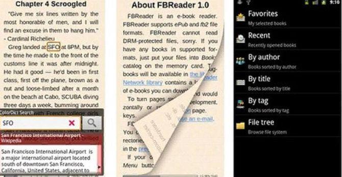 FBReader для андройд