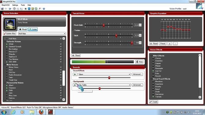 Программа MorphVOX Pro
