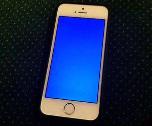 Как выглядит синий экран