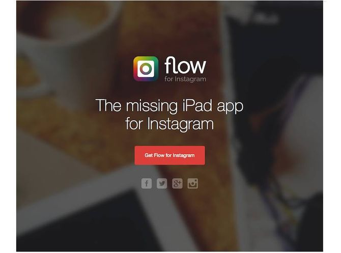 Ресурс Flow for Instagram