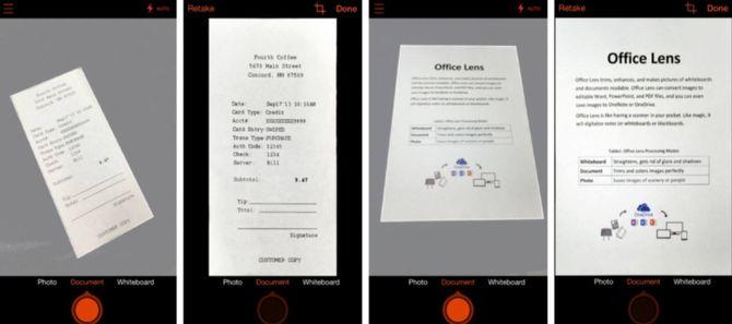 Приложение Office Lens