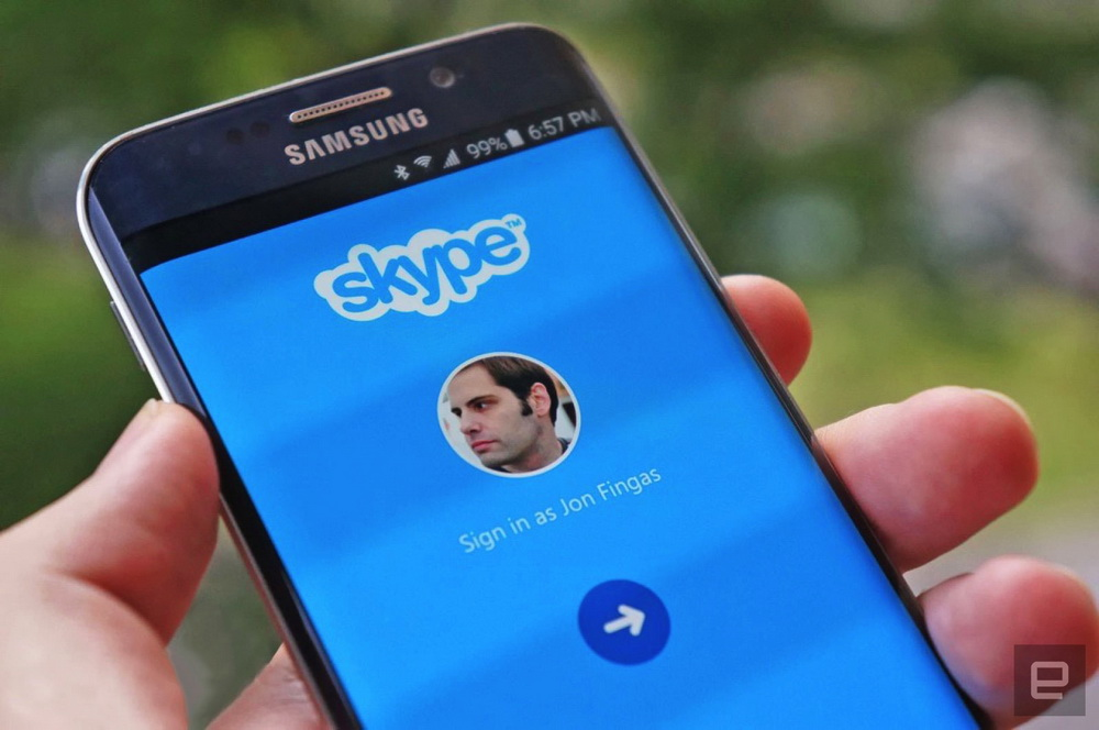 Скайп для телефона