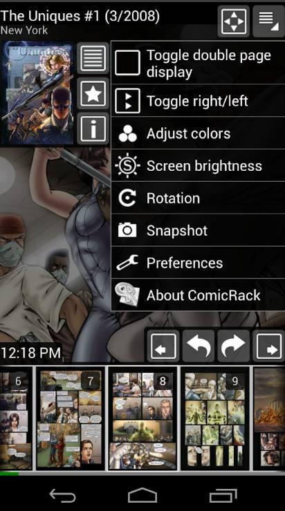 ComicRack для андройд