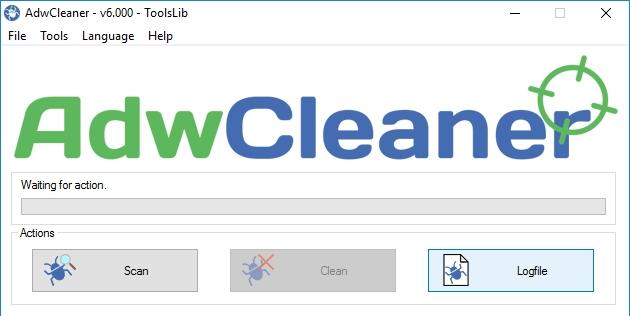 Антивирус AdwCleaner