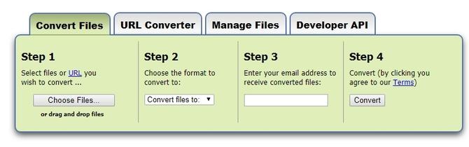 Конвертация файлов
