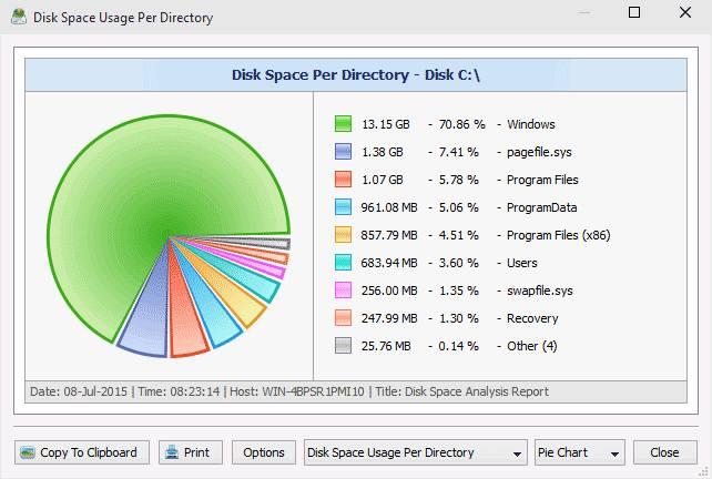Приложение Disk Savvy
