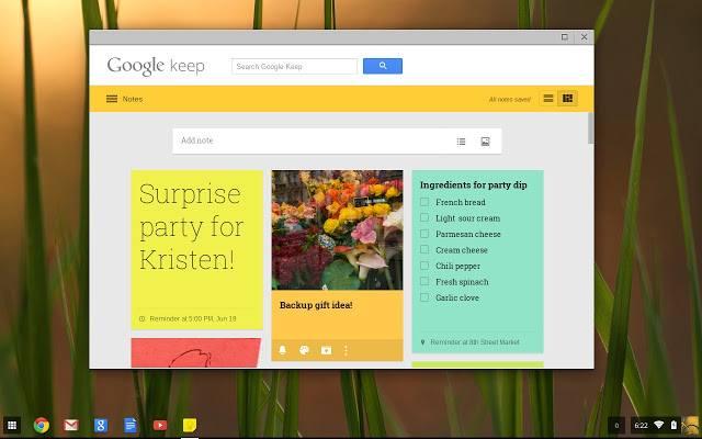 Заметки GoogleKeep