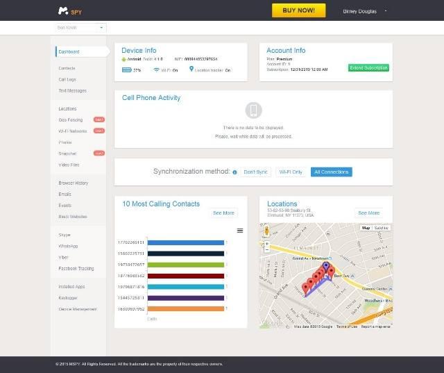 Мониторинг с Elite Mobile & Computer Monitoring