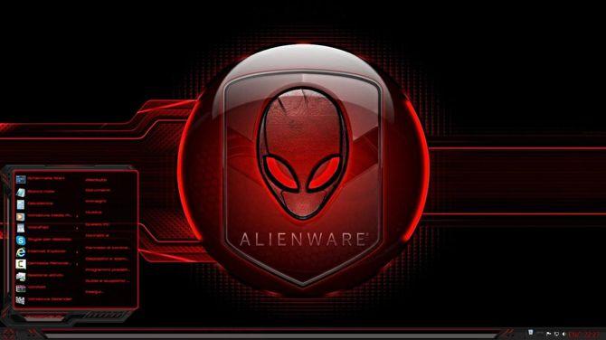 Тема Alienware