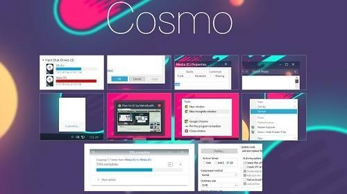 Оформление Cosmo