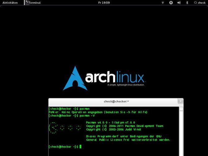 Система Arch Linux