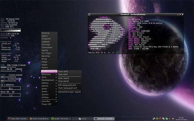 Линукс Gentoo