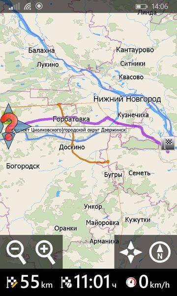 Навигатор MapFactor