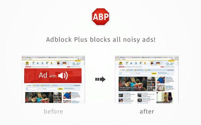 Использование Adblock Plus