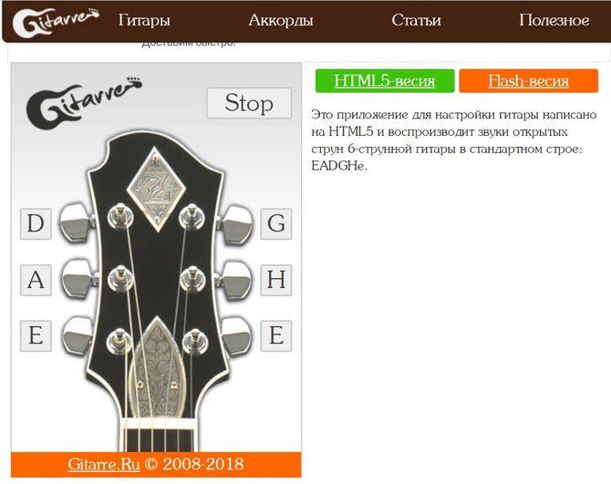 Сайт Gitarre