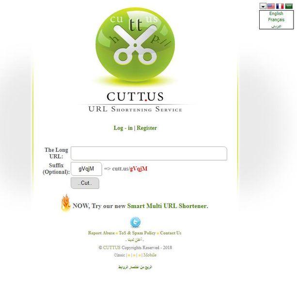 Сайт Cutt.us