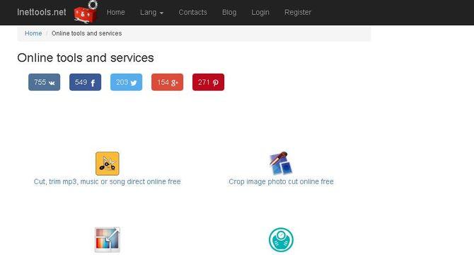 Сервис Inettools.net