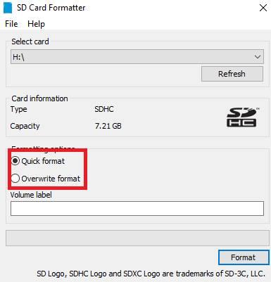 Тип форматирования