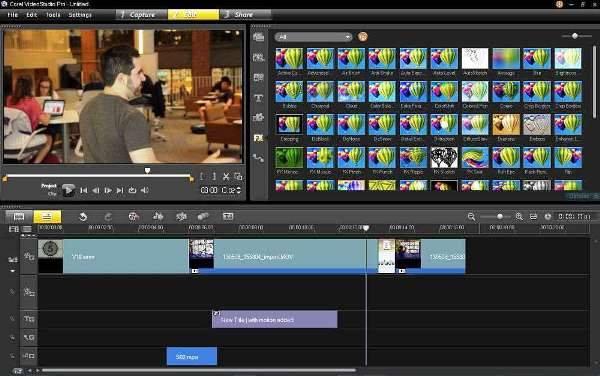 VideoStudio от Corel