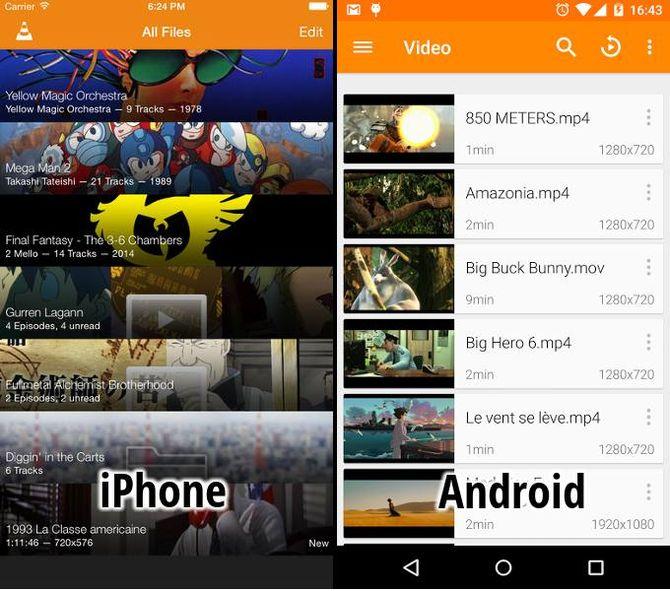 Медиаплеер VLC for Mobile