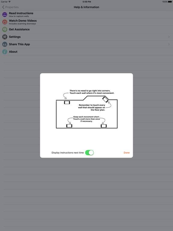 Приложение RoomScan Pro