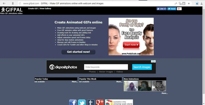 Сайт Gifpal