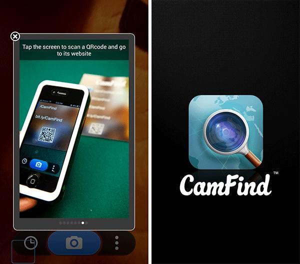 Приложение CamFind
