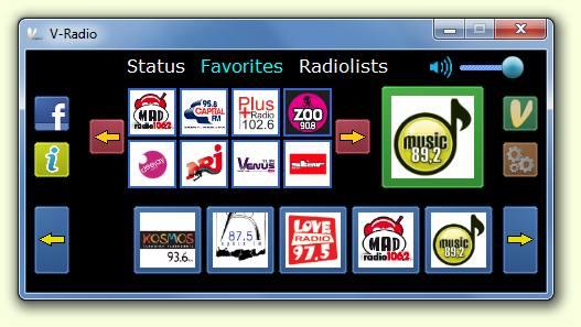 Программа V-Radio