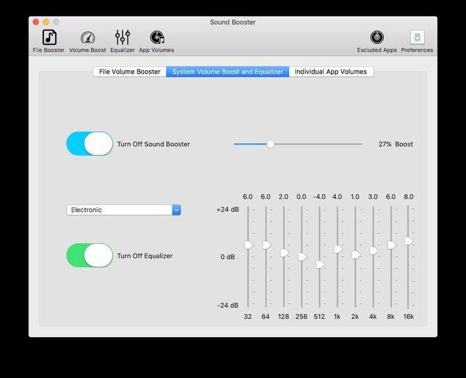 Программа Sound Booster
