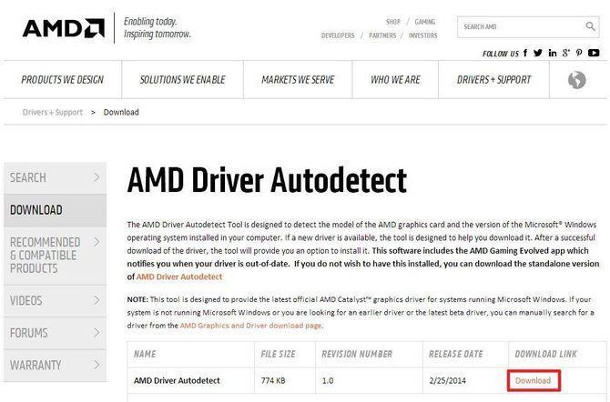 Программа от AMD
