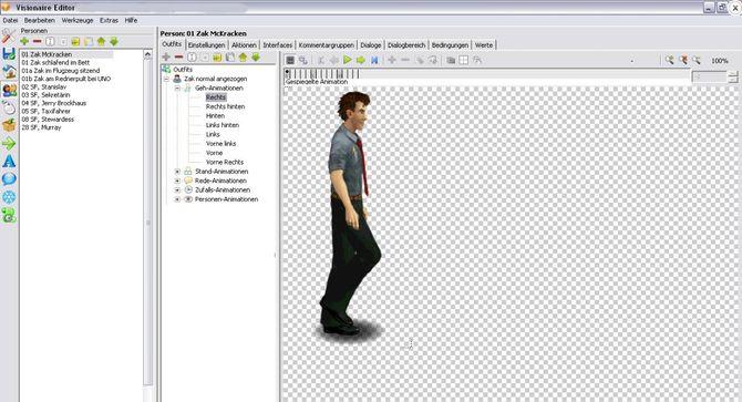 Приложение Visionaire Studio