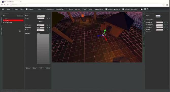 Приложение Defold Game Engine