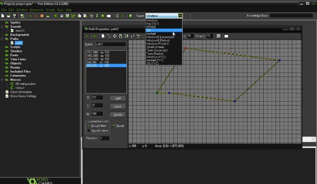 Приложение GameMaker: Studio