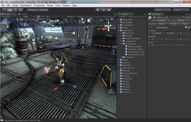 Движок Unity 3D