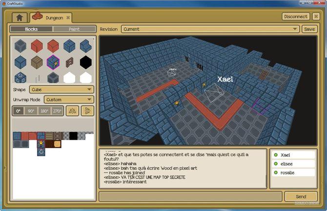 CraftStudio для создания игр