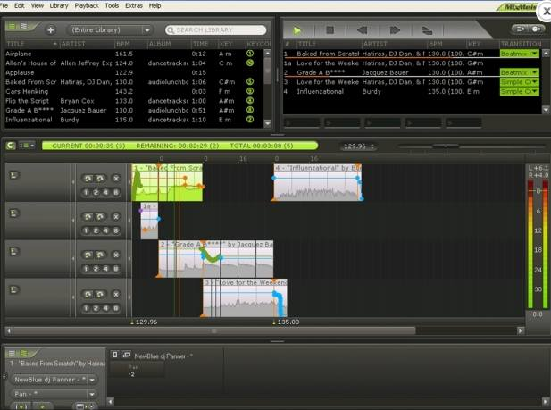 Программа MixMeister Studio