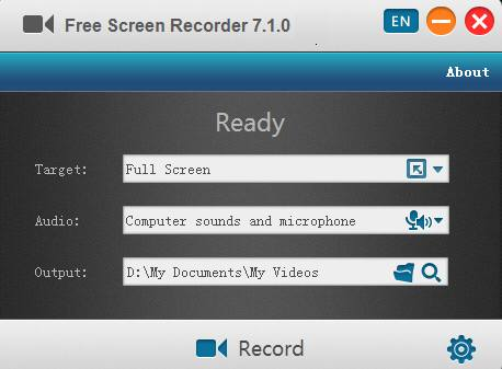 Утилита Free Screen Video Recorder