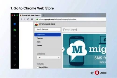 Дополнение Install Chrome Extentions