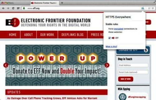 Дополнение HTTPS Everywhere