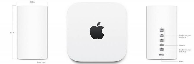 Маршрутизатор Apple Time capsule 2tb me 177