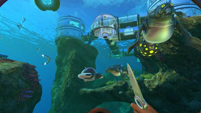Sabnautica - выживание под водой