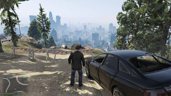 Легендарная Grand Theft Auto V
