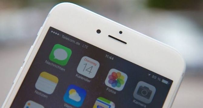 Технология в Айфоне