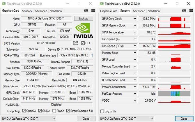 Программа GPU Z