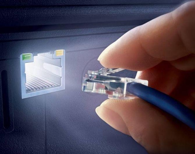 Интернет через кабель
