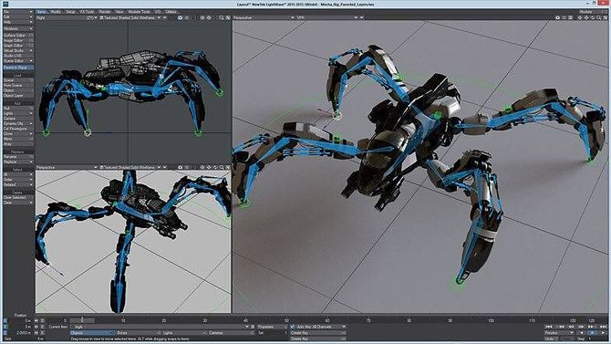 Программа Lightwave 3D